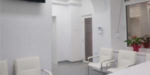 Salon de asteptare Alpha Clinics